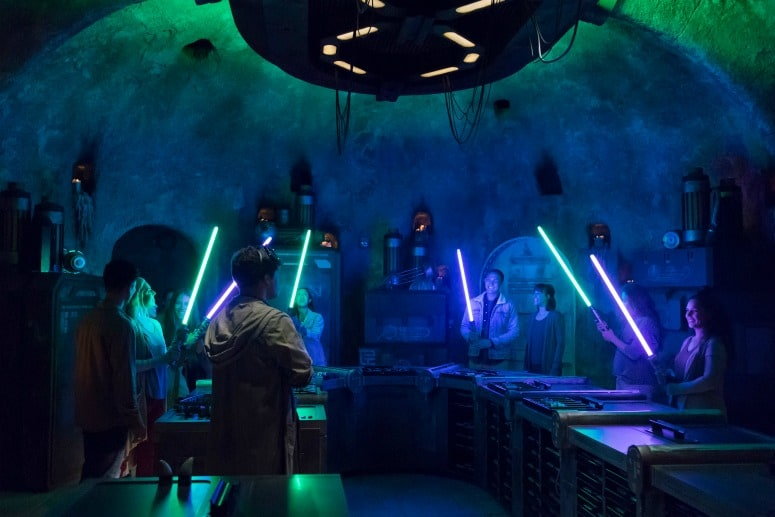 savi's workshop in galaxy's edge