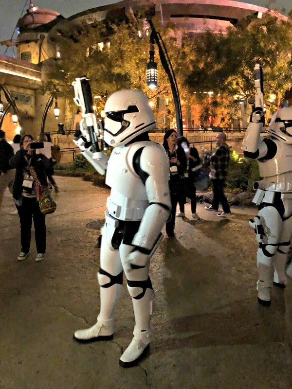 stormtroopers at disneyland