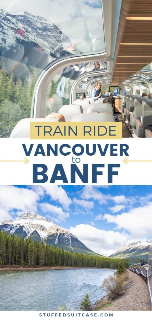 vancouver to banff rockies train ride