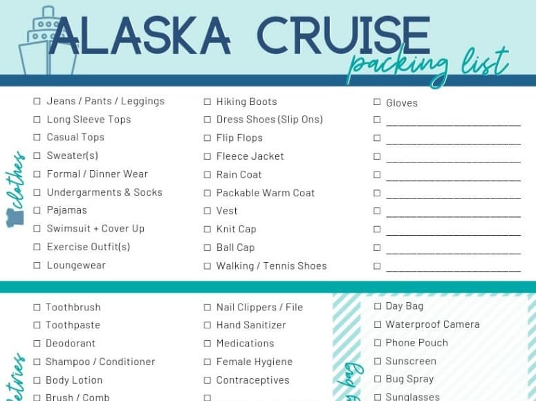 It's just a graphic of Printable Packing List for Cruise intended for universal