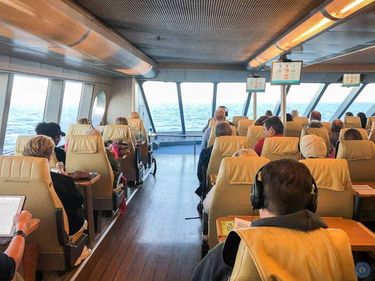 comfort class cabin on clipper