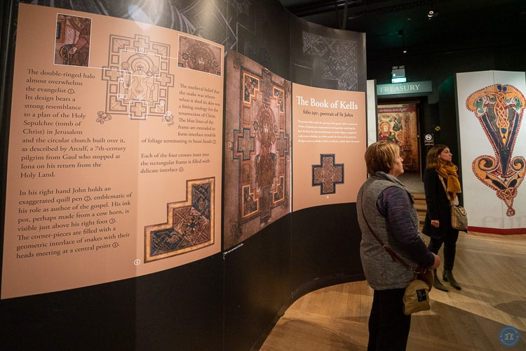 book of kells exhibit at trinity college Dublin