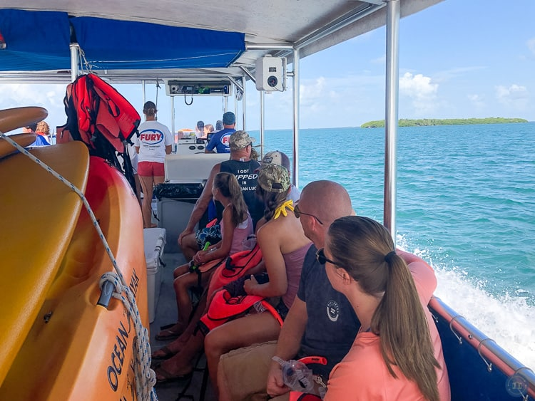 boat tour in key west