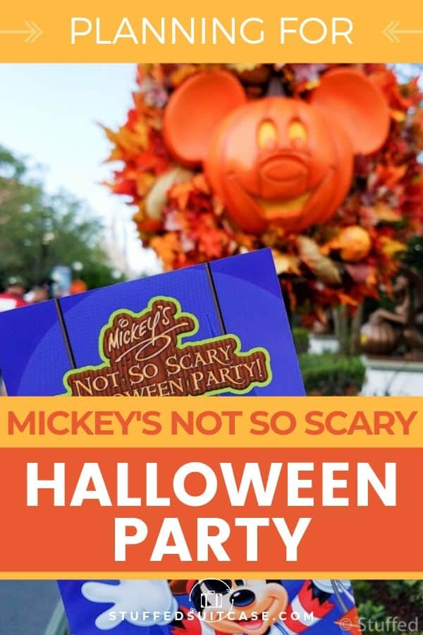 Guide for planning your 2019 visit to Mickey's Not So Scary Halloween Party at Disney World in Orlando.