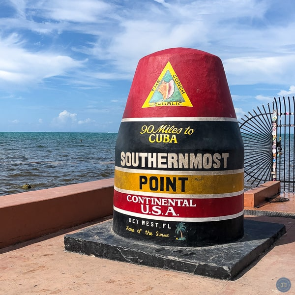 southernmost point continental us buoy