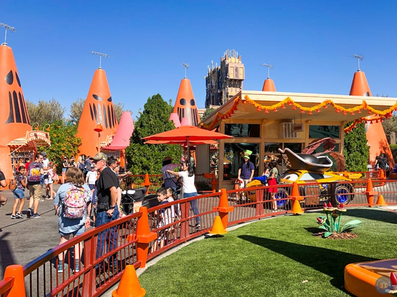 Cozy Cone Motel during Halloween at Disneyland
