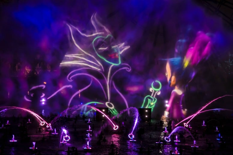 New world of color show Villainous