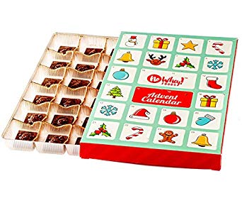 No Whey Foods - Chocolate Advent Calendar- Allergy Friendly And Vegan - Dairy Free, Nut Free, Peanut Free, Soy Free, Gluten Free