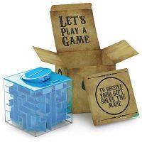 Money Maze Puzzle Box Money Holder