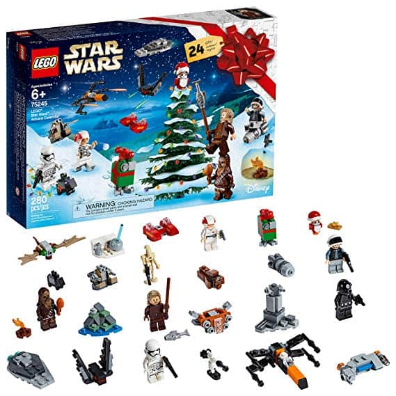 LEGO Star Wars 2019 Advent Calendar Holiday Gift Set Building Kit