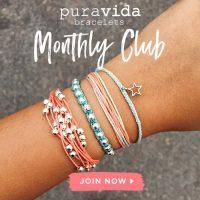 Pura Vida Monthly Bracelet Subscription