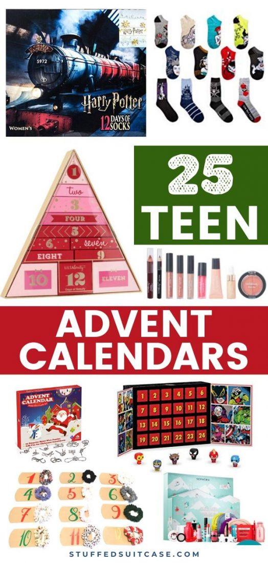 25 advent calendar ideas for teens