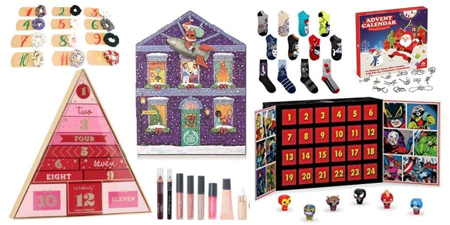 ideas for teen advent calendars
