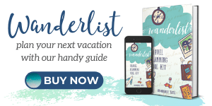 wanderlist travel planning book