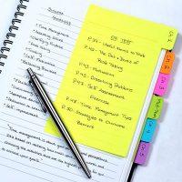 Tab Divider Sticky Notes