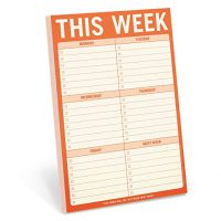 This Week To Do List Notepad