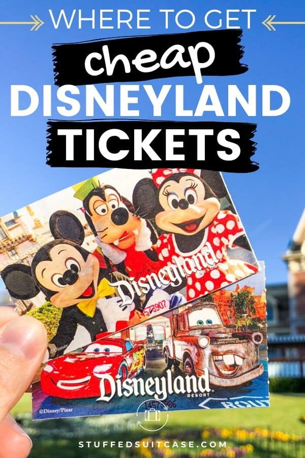 disneyland ticket in sky