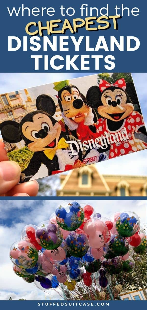 cheap disneyland tickets and balloons