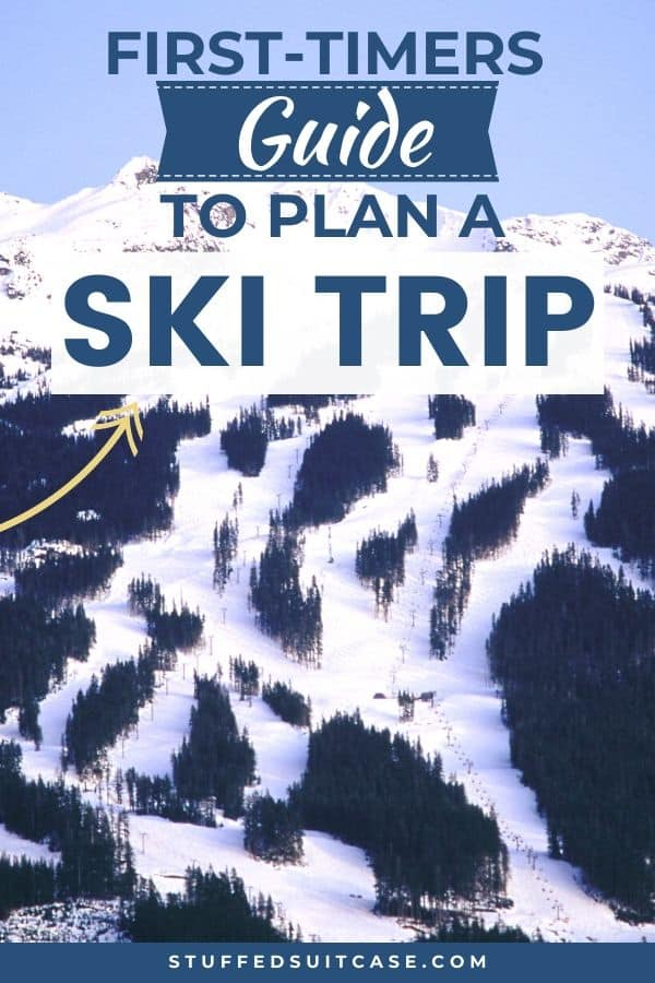 ski trip plan tips