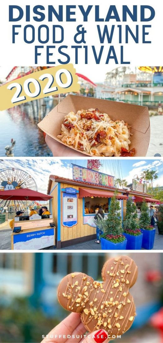 disneyland food and wine festival 2020