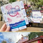 guide for disney food and wine event