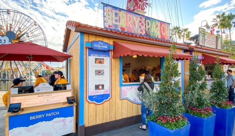 disneyland food and wine festival marketplace