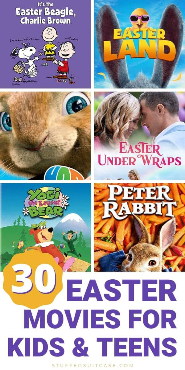 easter movies for kids and teens peter rabbit hop easter beagle charlie brown