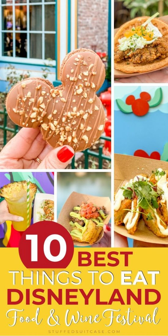 things to eat at disney food and wine festival