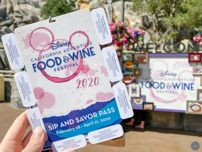 sip and savor pass disneyland