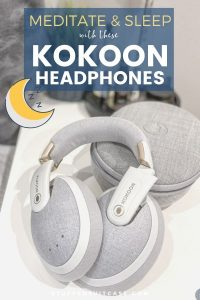 kokoon headphones on nightstand