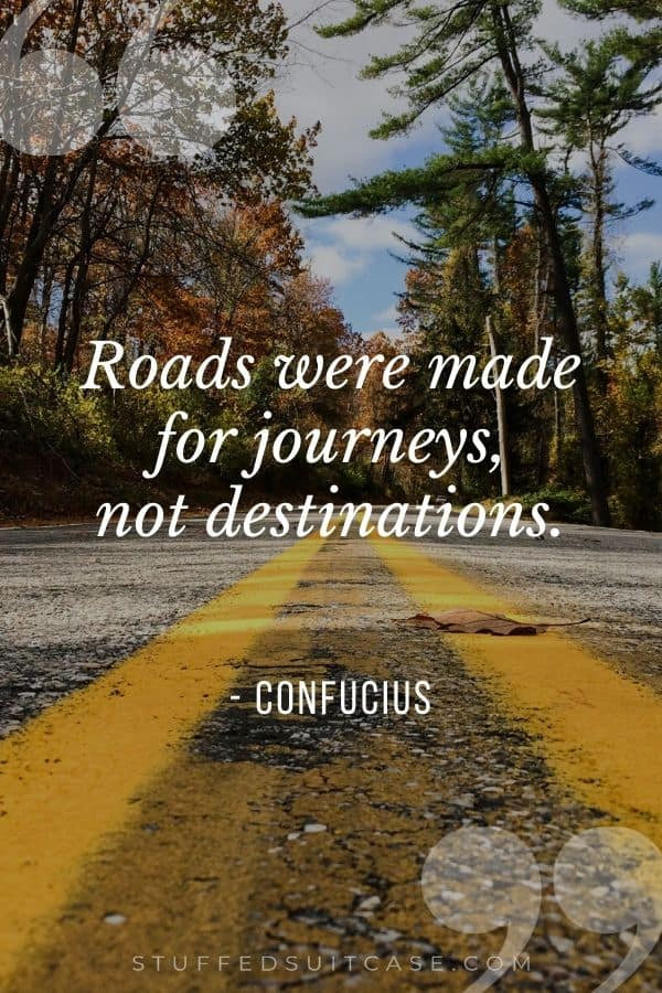 roads were made for journeys quote