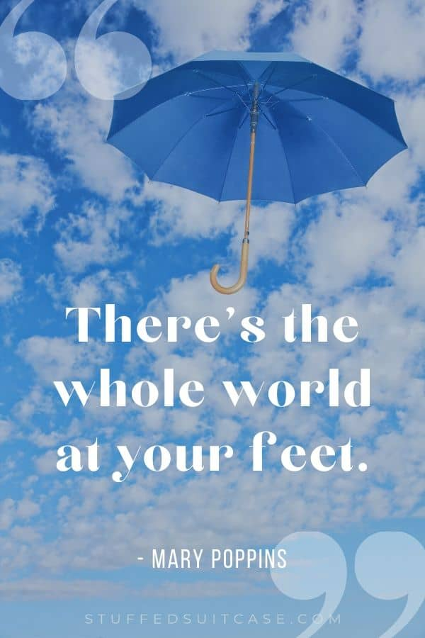 mary poppins disney quote