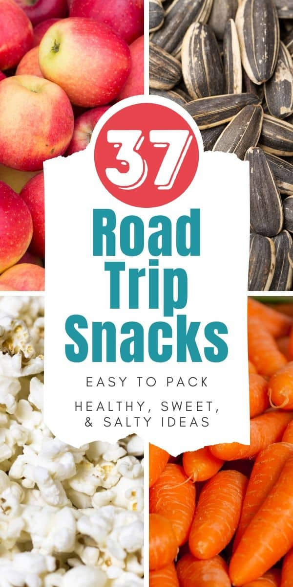 road trip snack ideas pinterest image