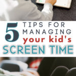 screen time management tips