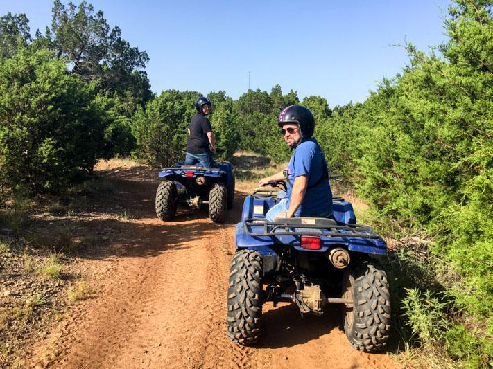 atv rider near sulphur oklahoma