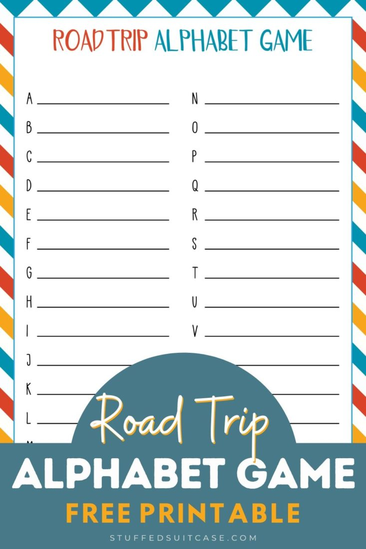 road trip alphabet game