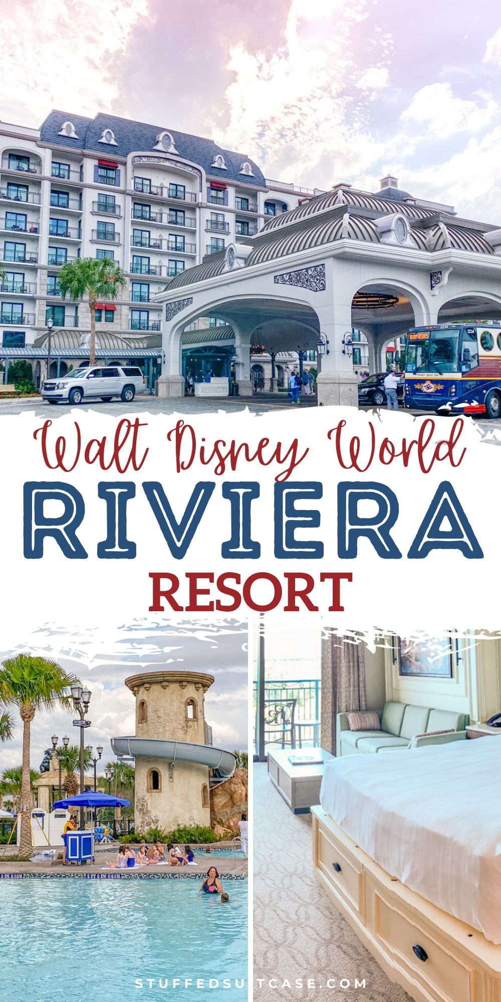 riviera resort image collage for pinterest