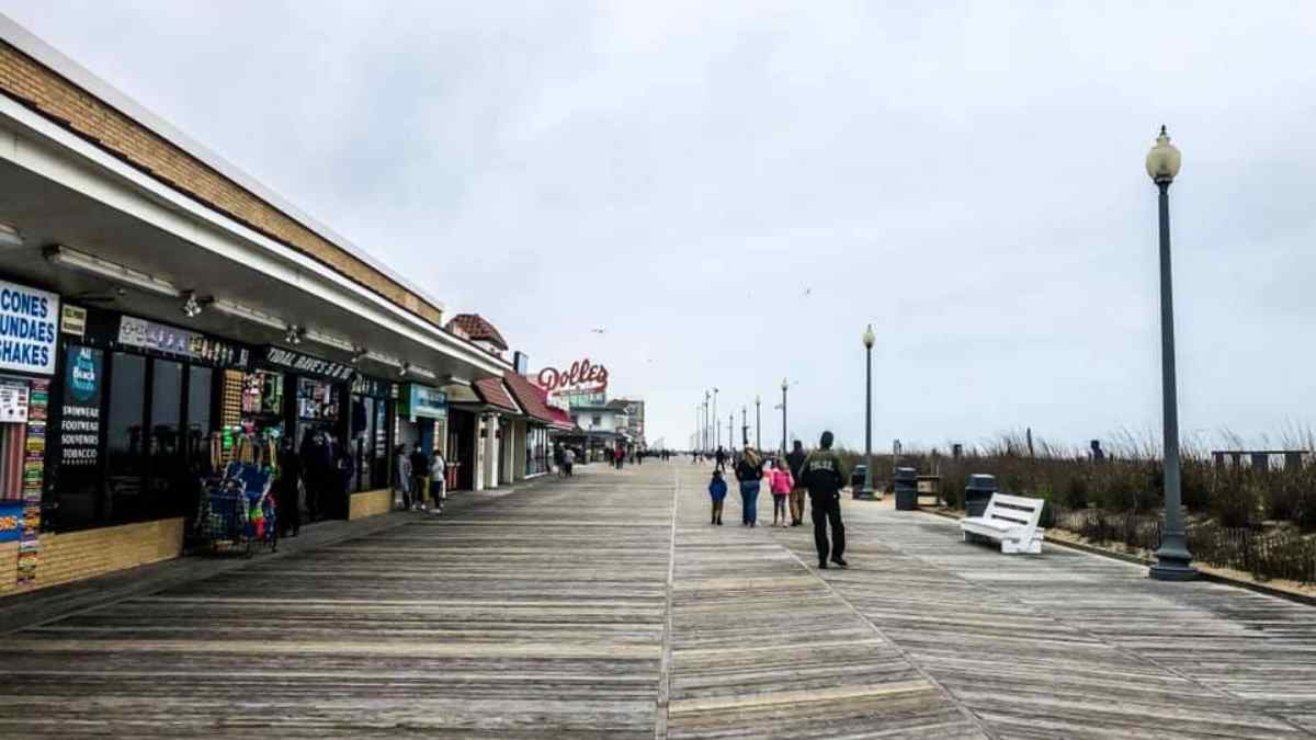 rehoboth beach boardwalk in delaware