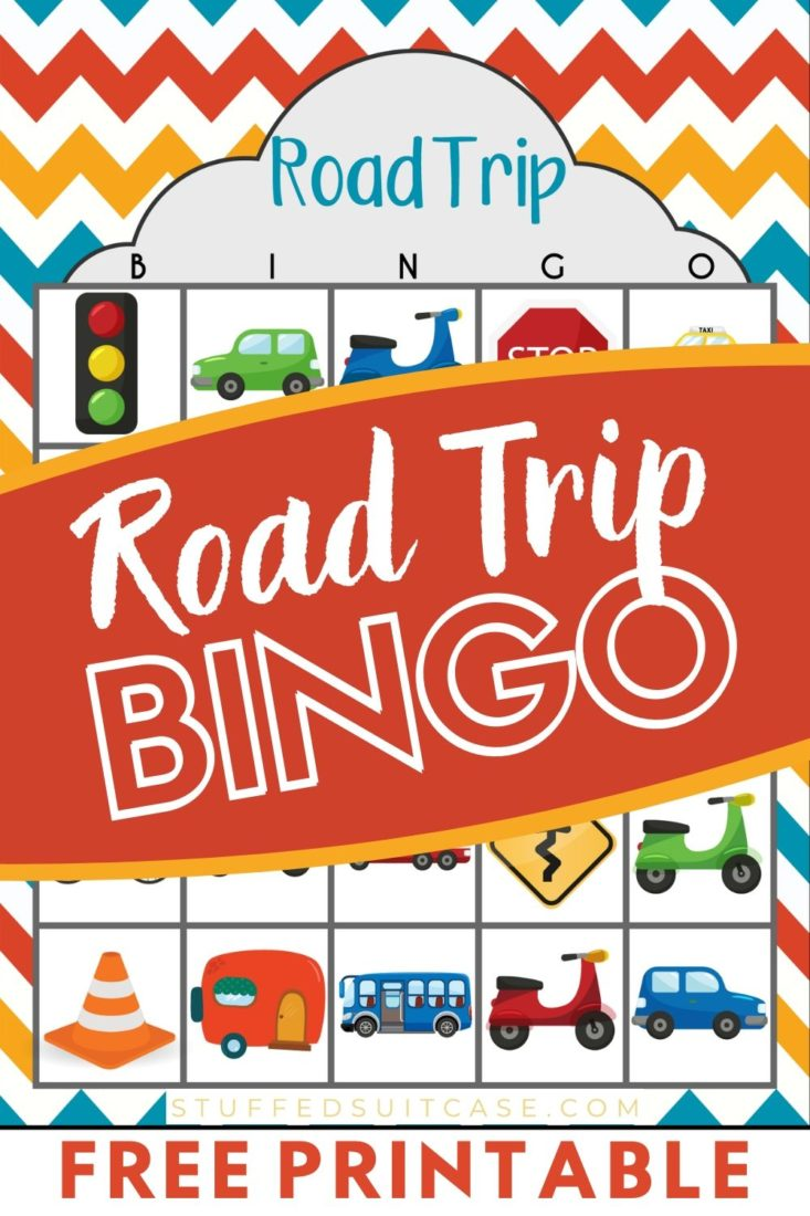 road trip bingo game printable