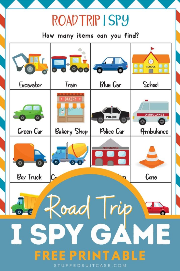 road trip I spy game printable