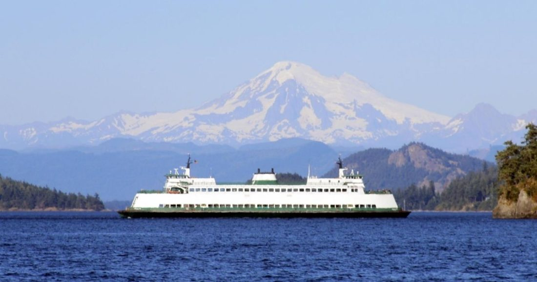 ferry in washington state