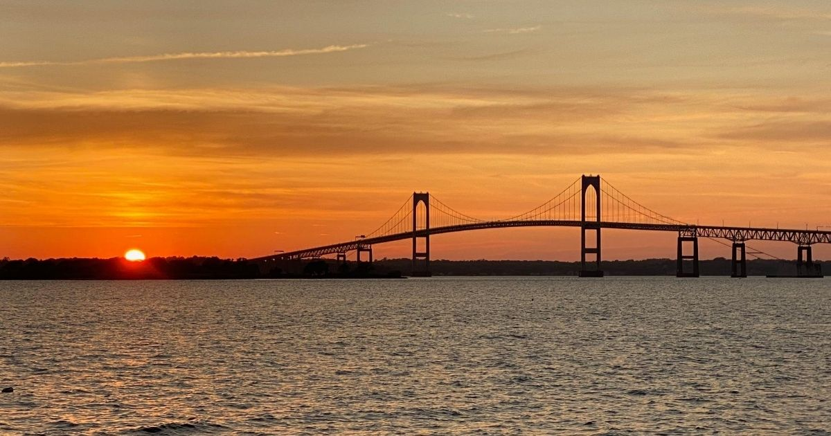 pell bridge in rhode island