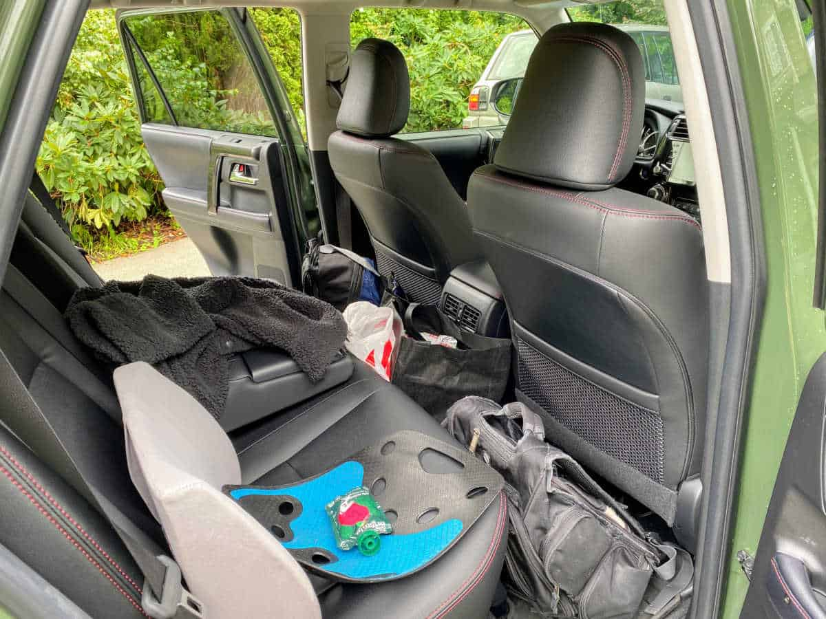 back seat space in toyota 4runner