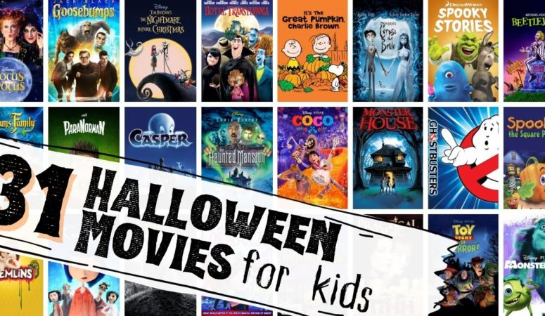 halloween movies for kids collage
