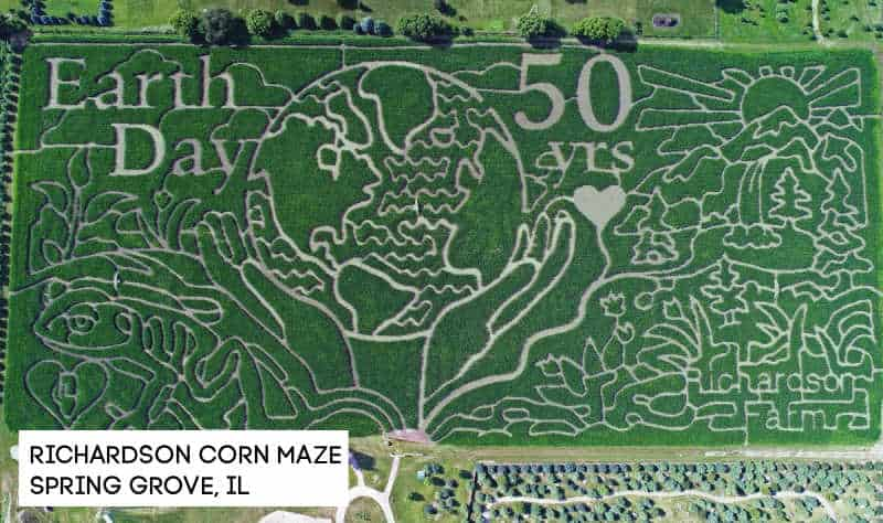 richardson corn maze in spring grove IL
