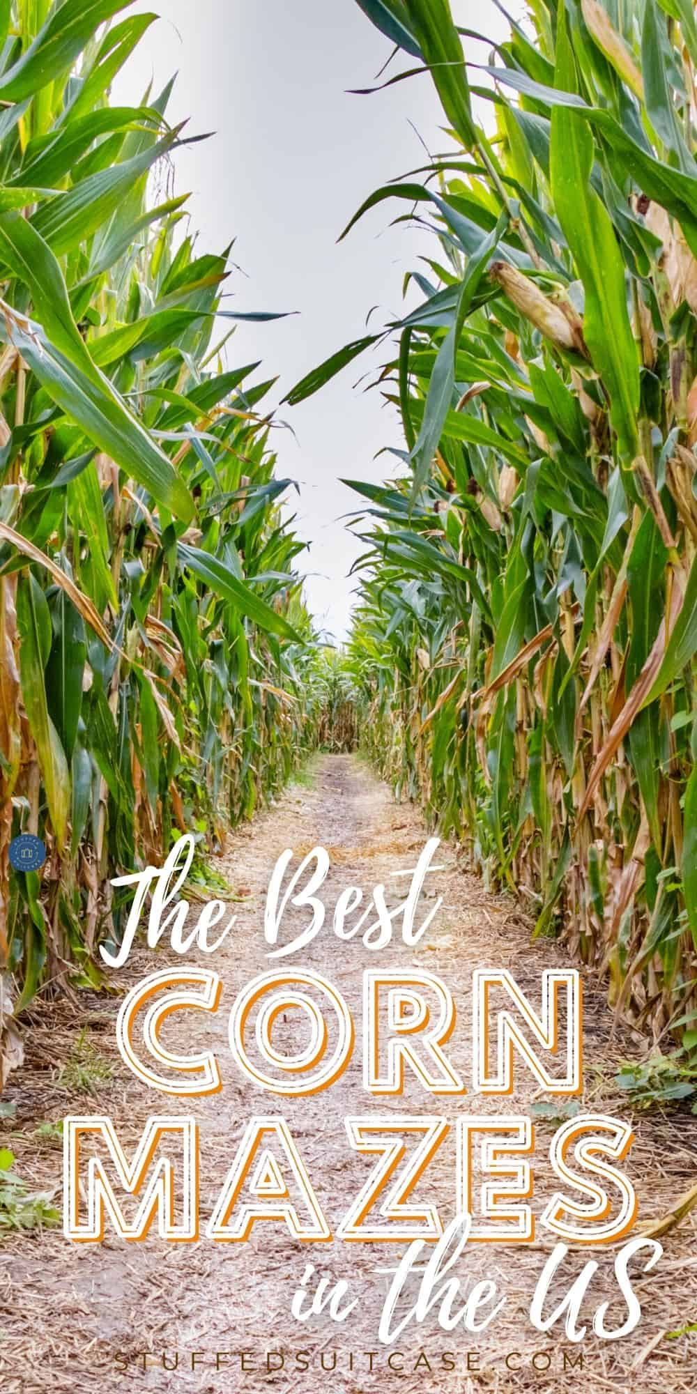 corn mazes in the united states