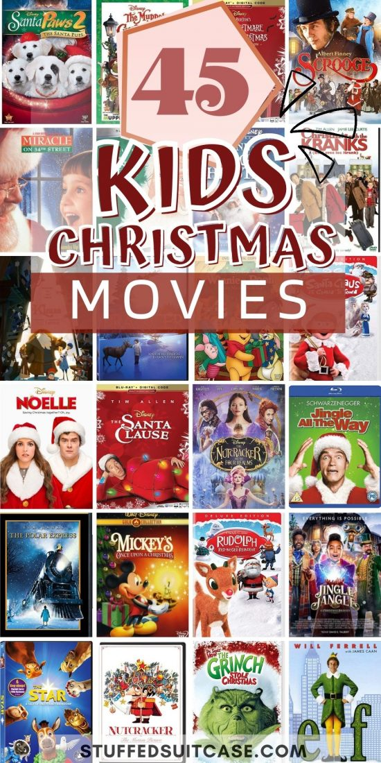 christmas movies for kids collage