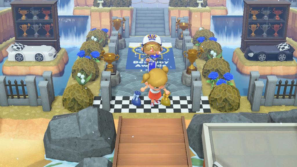 playing kelley blue book hq on animal crossing