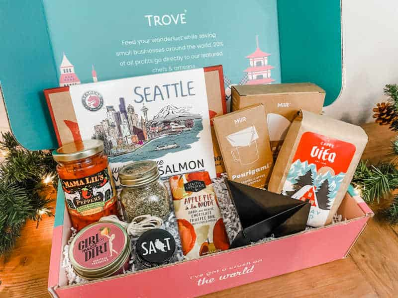 trove seattle travel subscription box