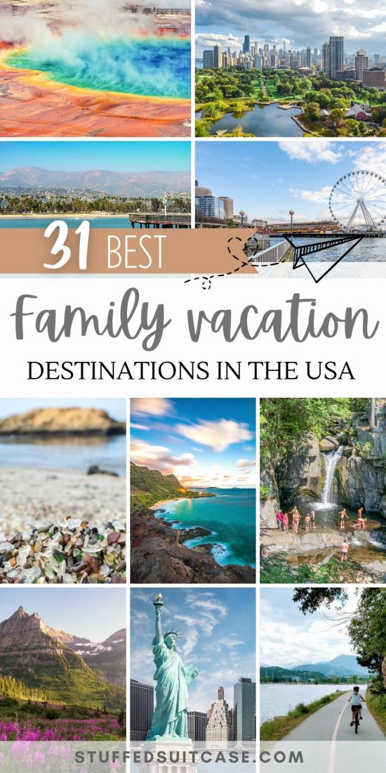 best family vacation spots in us